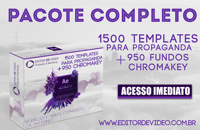 After Effects projetos-prontos