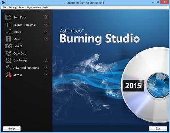 Portable Ashampoo Burning Studio 2015