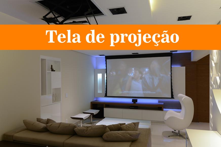 tela de projeção