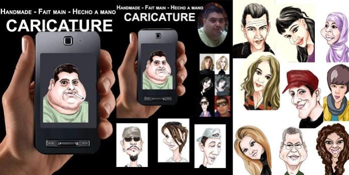 Aplicativos para fazer caricaturas